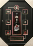 Guy Lafleur Montreal Signed Beer Bottle Framed