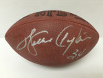 Walter Payton Signed Authentic NFL Wilson Football