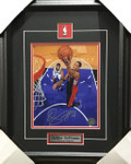 Demar Derozan Signed Raptors 8x10 Framed