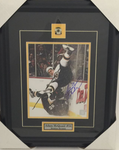 Adam Mcquaid Bruins Signed 8x10 Framed