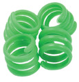 20MM LEG RINGS - GREEN (50)
