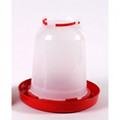 6L RED AND WHITE DRINKER
