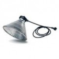 HEAVY DUTY INFRA RED LAMP HOLDER WITH WIDE SHADE
