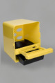 Rollaway Nest Box - Yellow