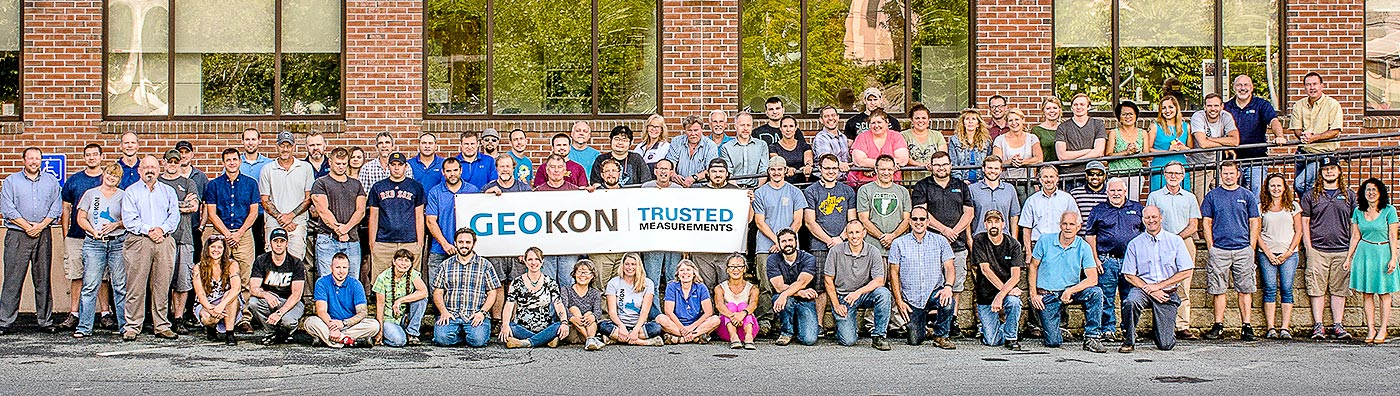 Photo of GEOKON employees.