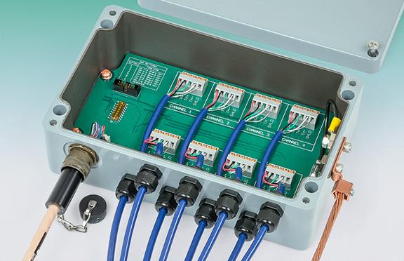 Model 8800-8-1 Multiplexer.