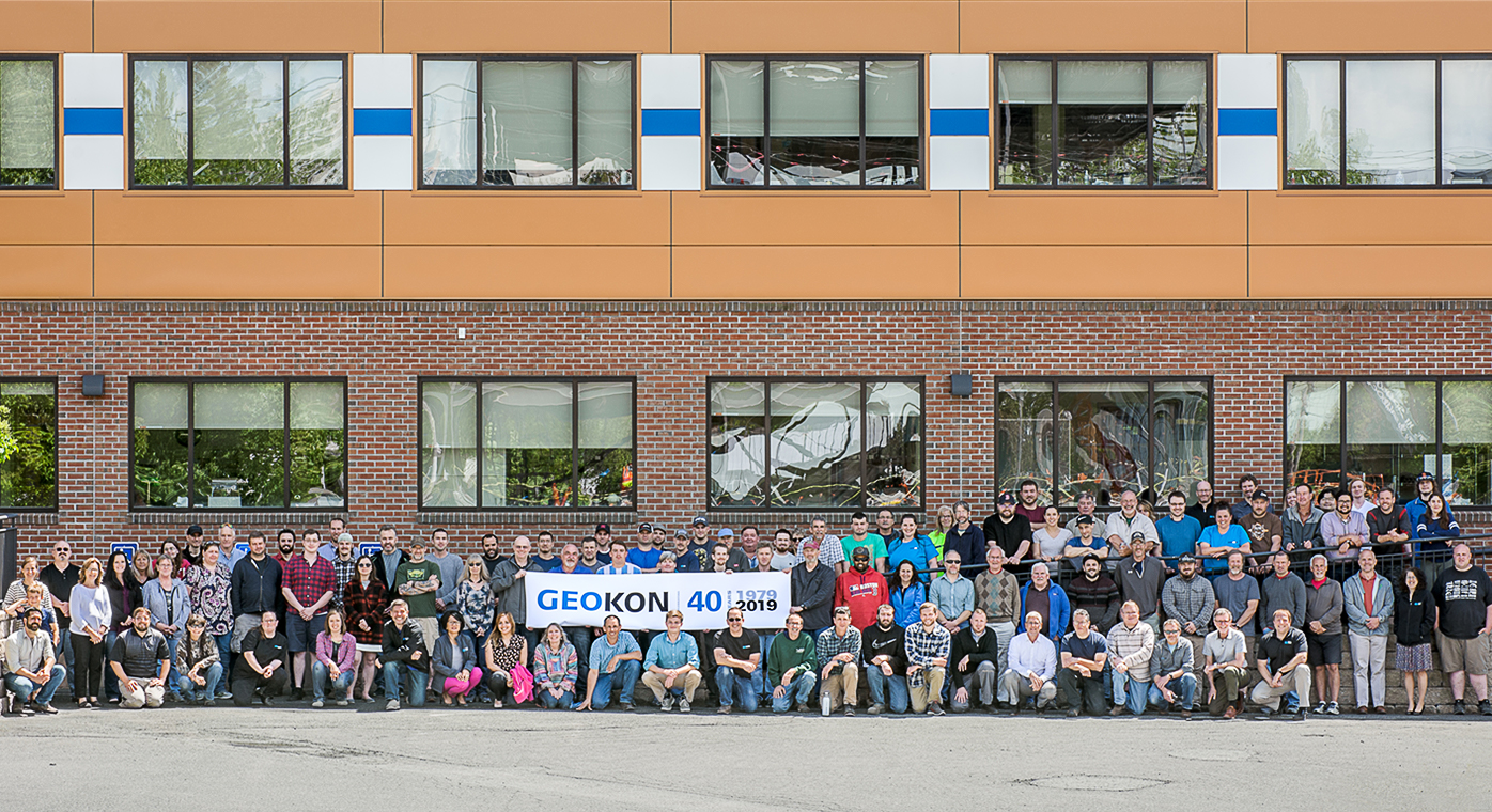 GEOKON employees celebrating our 40th Anniversary.