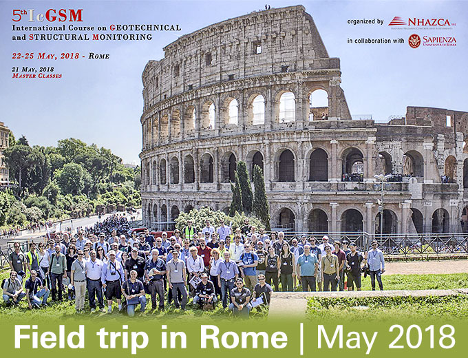 Field trip in Rome, May 2018.