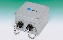 Photo of the Model 8002-1A-1 (LC-2A) Single-Channel Datalogger.
