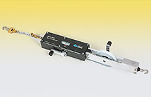 Photo of the Model 1610 Tape Extensometer.