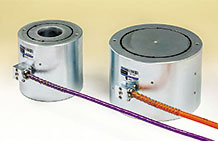 Photo of the Model 4900 Vibrating Wire Load Cells.