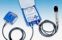 Photo of the Micromate Vibration and Air Overpressure Monitor.
