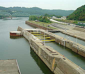 Photo of the Lower Mon Project.