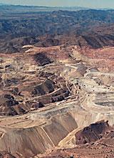 Photo of Morenci Mine.