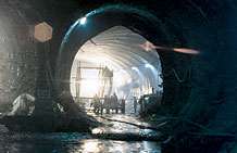 Photo of a tunnel.