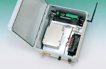 Model 8040 2-Channel Wireless Vibrating Wire Interface Module.