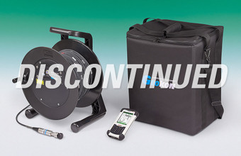 Model GK-604 Inclinometer Readout comprising cable reel with probe interface, cable, Field PC and carry case (this product has been discontinued).