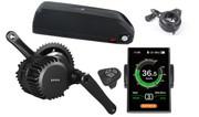 250W Bafang Mid Drive Crank Motor Lithium Battery Electric Bike Conversion Kit