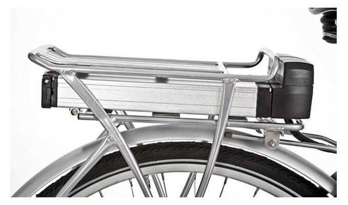 E Bike Battery 36v 10ah Rear Rack Pannier Lithium Battery