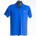 Polo Performance Shirt (royal blue & purple)