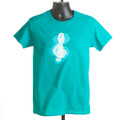 "T-shirt  ""HSI Logo Splash"" (Jade)"