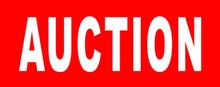 """Auction"" Banner"