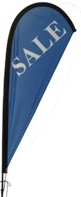 Sale Teardrop Flag Blue