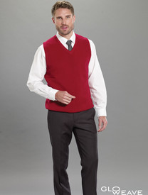 Crestknit Mens Knitted Vest  Discontinued No Return