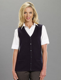 Sleeveless Cardigan DISCONTINUED No Return