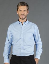 Gloweave Wrinkle Free White Oxford Shirt