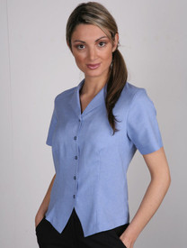 LSJ Freedom Plain Periwinkle Fitted Shirt