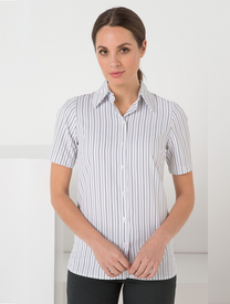 LSJ Freedom Stripe Short Sleeved East Fit Shirt