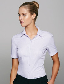 Lady Bayview White/Pink Shirt