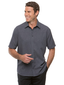 Charcoal Ezylin Short Sleeved Shirt