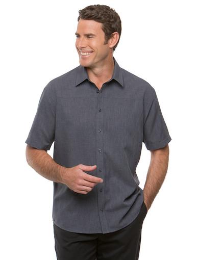 Charcoal Ezylin Short Sleeved Shirt