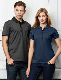 Mens Shadow Polo