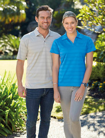 Stencil Mens & Ladies Ice Cool Polo