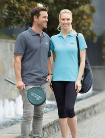 Stencil Mens & Ladies Traverse Polo