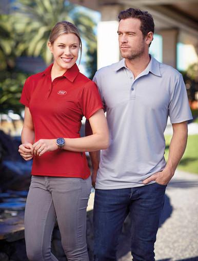 Stencil Mens & Ladies Silvertech  Polo