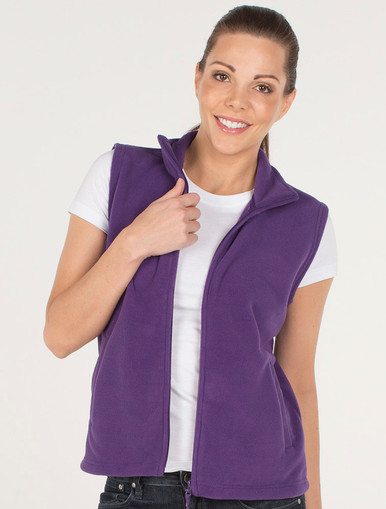 JB's Wear Ladies Polar Fleece Vest