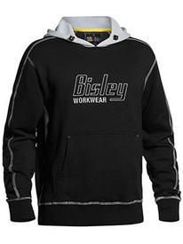 Bisley Flex & Move™ Black Contrast Hoodie