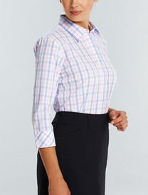 Gloweave Ladies Soft Tonal Check Shirt
