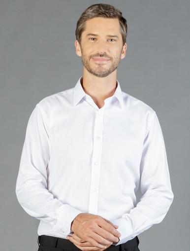 Gloweave Ultimate White Mens L/S Shirt