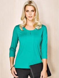 Advatex Abby Ladies 3/4 Sleeve Knit Top