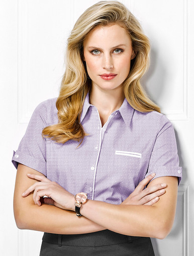 Calais Ladies Short Sleeve Shirt