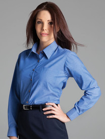 JB's Wear Ladies Indigo Shirt