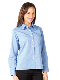 JB's Wear Ladies Fine Chambray Shirt