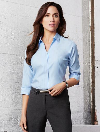 Preston Ladies 3/4 Sleeve Shirt