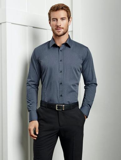 Mens Long Sleeve Trend Shirt