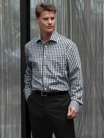 The Hartley Black Check Shirt